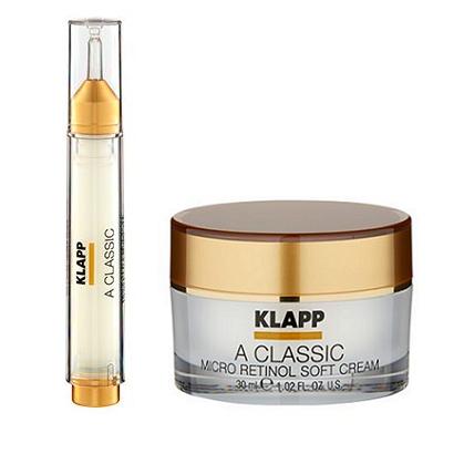 Klapp A Classic Micro soft Retinol cream & booster Emulsion
